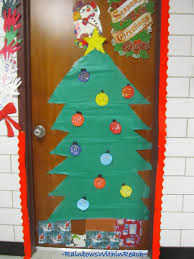 Classroom Door Decoration For Christmas by Classroom Christmas Decorations Home Decorations