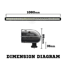 42 In Led Light Bar by 42