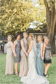 great gatsby bridesmaid dresses black and gold gatsby wedding gatsby style gatsby and bridal