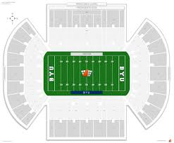 lavell edwards stadium byu seating guide rateyourseats com
