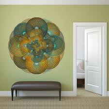 circle wall stickers conspicuous design
