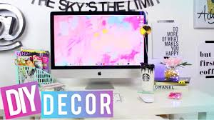 Diy Office Desk Accessories by Desk Tour Diy Desk Decor Youtube