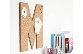 how to make a letter corkboard goodtoknow