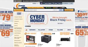 amazon and new egg black friday and cyber monday newegg has some of the best cyber monday electronics deals online