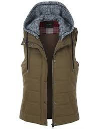 light brown vest womens le3no womens quilted padded sleeveless puffer vest wv3032 2sable
