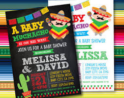 mexican baby shower baby shower etsy