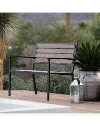 Resin Wood Outdoor Furniture by Great Deals On Outdoor Coral Coast Dennison All Weather Resin Wood