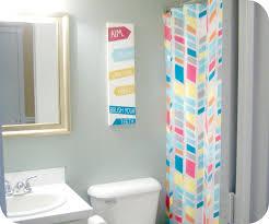 inspiring kids bathroom design plans with nice flooring tile and