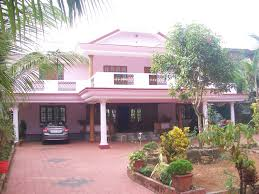 painted houses 5bhk individual house for sale in chalakudy thrissur at newly