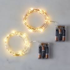 dew drop wired led lights set of 2 on food52