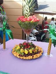 fruit displays best 25 luau fruit display ideas on fruit display