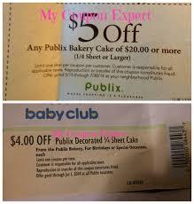 bakery cakes publix coupon alert my coupon expert