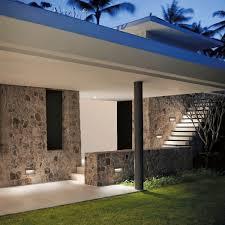 recessed wall light fixture led rectangular outdoor