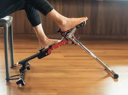 Chair Cycle Go Barefoot With The Excy Portable Exercise Cycle Excy