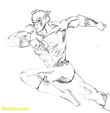 superhero flash coloring pages contegri com