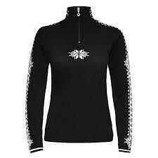 black sweater womens dale of geilo womens sweater 2019