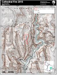 Map Of Utah Parks by Lightning Starts Cathedral Fire In Zion National Park Trail