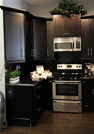 how to clean espresso cabinets espresso cabinets with countertop that runs up as