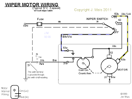 wiper motor wiring diagram wiper wiring diagrams instruction