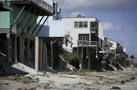 line of beachside houses face an uncertain future st augustine