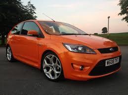 ford focus st 2011 for sale used ford focus 2008 orange paint petrol 2 5 st 3 3dr sat nav
