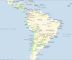 map of mexico and america map of south america and mexico travel maps and major tourist