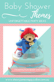 english style paddington bear baby shower theme
