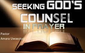 Seeking God Seeking God S Counsel In Prayer Mvc