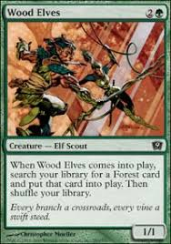 wood elves 9th edition magic the gathering gaming