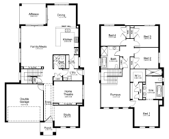 free double storey house plans house plans