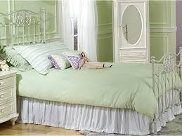 Platform Metal Bed Frame Bed Frame White Twin Metal Bed Frame With Purple Bed Cover And