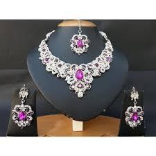 parure mariage pas cher parure bijoux mariage violet achat vente pas cher black
