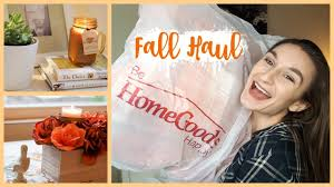 huge fall home decor haul and live decorating september 2017