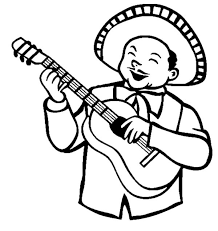 mexican pinata coloring free download
