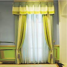 Blackout Yellow Curtains Fresh Green Modern Linen Blackout Striped Curtains No Valance