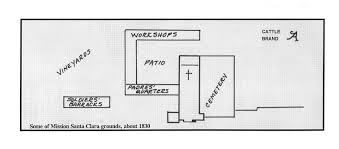 mission san jose floor plan california missions karsen s 4th grade mission project