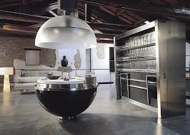 cuisine de luxe cuisine design spherique gatto cucine sheer carbone