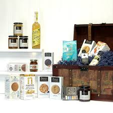 large vintage organic food gift hamper gift ideas for christmas