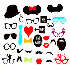 Photo Booth Accessories Aliexpress Com Buy 31pcs Set Creative Photo Booth Props Glasses
