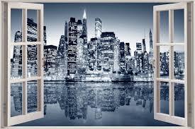 ebay 3d wallpaper wallpapersafari new york city view wall stickers film mural art decal wallpaper ebay