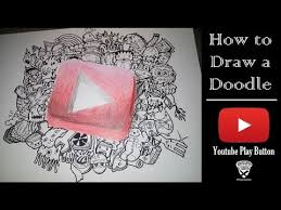 play doodle draw how to draw a doodle play button speed drawing