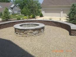 Exposed Aggregate Patio Pictures by Gathering Areas U0026 Fire Pits St Louis Concrete