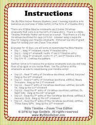 printable bible timeline tree ornaments