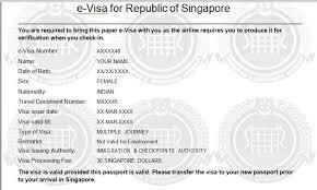 Letter Visa Application Exle Sle Covering Letter For Singapore Tourist Visa Covering Letter