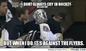 Hockey Meme Generator - good hockey jokes dont always cry hockey crying fleury meme