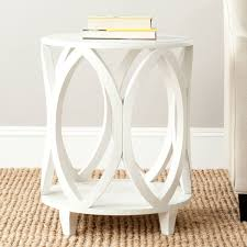 Small White Accent Table Table Brilliant White Round Accent With Amh6607a Tables Furniture