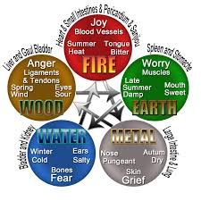 traditional chinese medicine theory of the 5 elements description