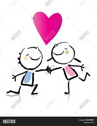 valentine u0027s day cartoon romantic vector u0026 photo bigstock