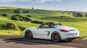 convertible porsche 2016 2016 porsche boxster spyder review and test drive with horsepower