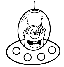 inspirational alien coloring pages coloring pages gallery